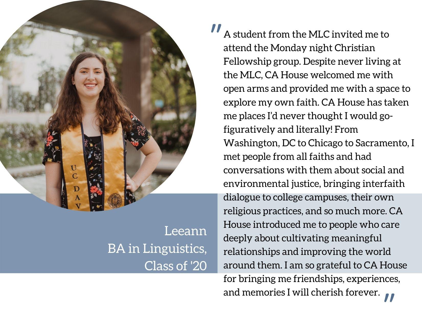 2020-21 Student Testimonials